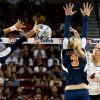 Kelsey Brennan rifles the ball